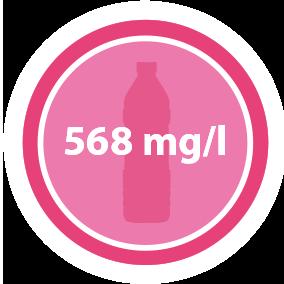 568 mg/l