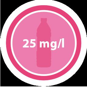 25 mg/l