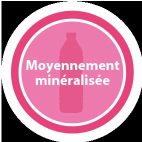 Moyennement minéralisée